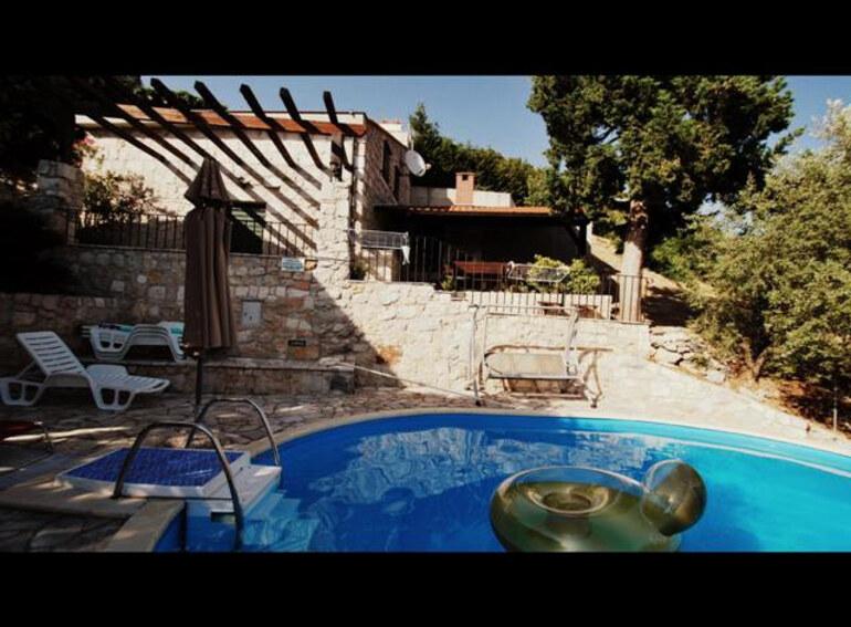 Kroatien luxus villa sunset - Riviera pool ...