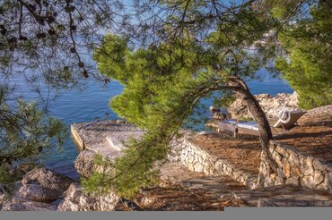 Private beach Villa rent Croatia  (1)