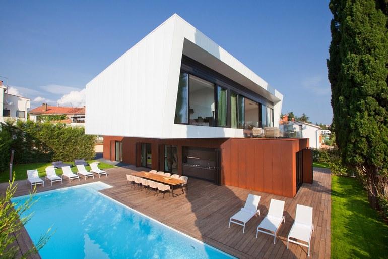 Luxury istrian villa porec santo for Design hotel croatia