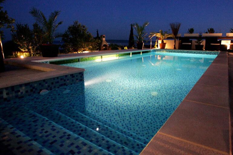 Modern family villa for rent on trogir riviera pool - Riviera pool ...