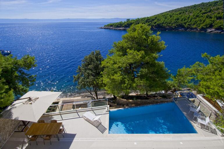 seafront exclusive villa brac