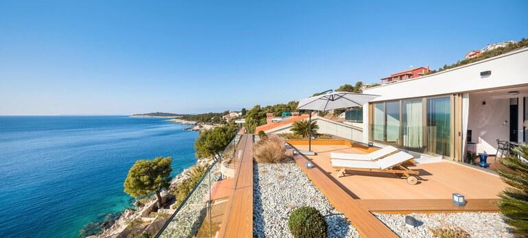 Croatian luxury villa with pool on primosten riviera - Riviera pool ...