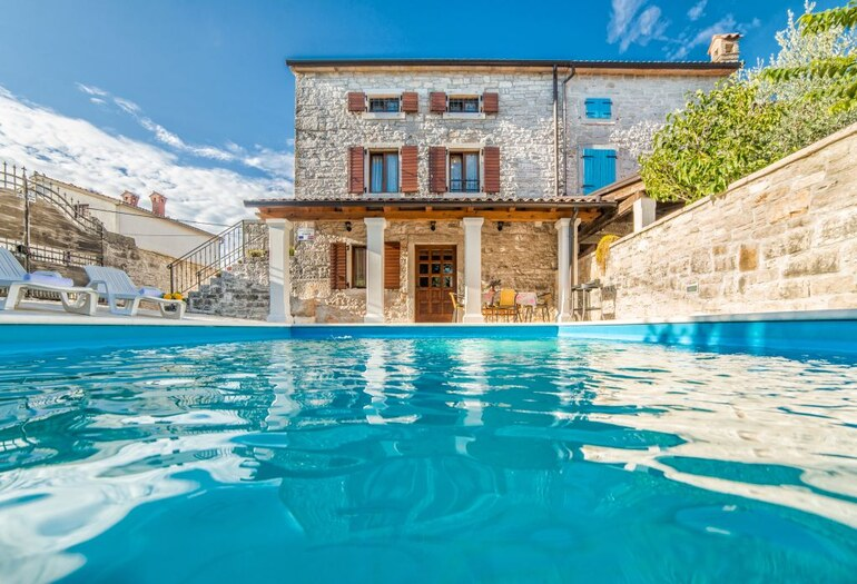 Istria Holiday Rental Villa Rocco With Pool