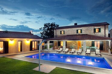 Istria Holiday pool Villa  (1)